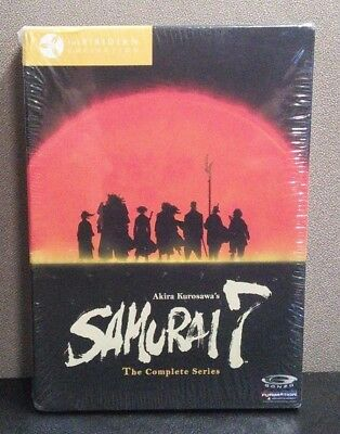 Samurai 7: The Complete Series  (7 DVD Box Set)  26 Episodes   BRAND NEW