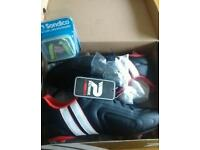 Rugby boots size8 and mouth guard