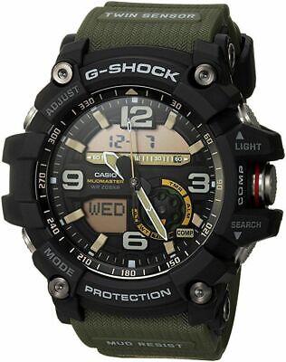 Casio G-SHOCK GG1000-1A3 Mudmaster Twin Sensor Compass Men's Watch ARMY GREEN