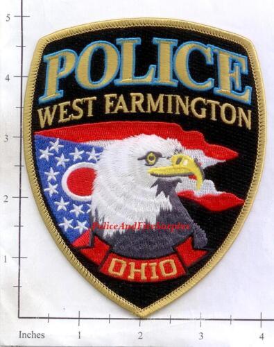 Ohio - West Farmington OH Police Dept Patch - Eagle