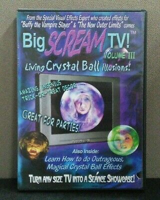 Movies Like Halloween 3 (BIG SCREAM TV VOL. 3: Living Crystal Ball Illusions   (DVD)   LIKE)
