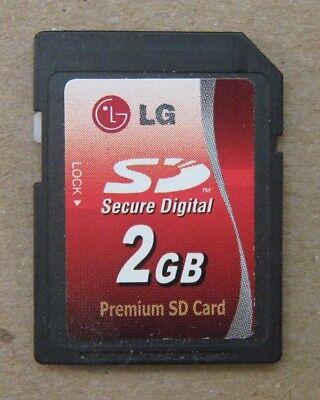 Lg Digital Memory (LG 2 GB 2GB Secure Digital Premium SD Memory Card SL2GLC LSBC2G7H5 USA Seller)