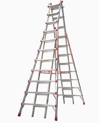 Little Giant Ladders Skyscraper 21-ft Aluminum Type 1a - 300 Lbs. Capacity Teles
