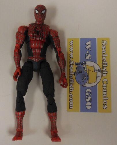 "Marvel Legends Toy Biz Super Poseable Spider-Man 2 Action Figure 03 6"" W/O Bill"