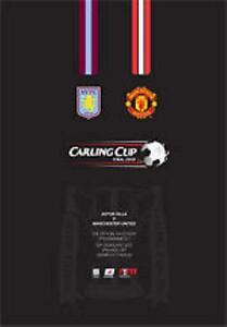 * 2010 CARLING CUP FINAL - MAN UTD v ASTON VILLA *