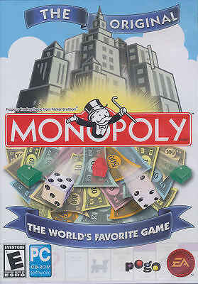 Monopoly 08 - Parker Brothers Hasbro Pc Game For Windows ...