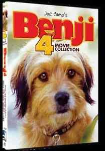 Benji-4-Movies-Collection-New-Region-1-DVD-Box-Set-Family-Entertainment
