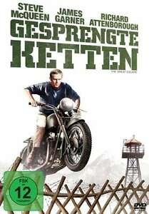 GESPRENGTE-COLLANA-The-Great-Escape-STEVE-McQUEEN-Charles-Bronson-DVD-nuovo