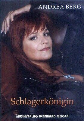 Andrea Berg Schlagerkönigin Songbook Noten für Klavier Gitarre Keyboard Gesang