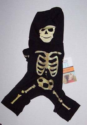 Martha Stewart Halloween Costumes For Dogs (Martha Stewart Pets GITD Skeleton Costume for Dogs Dog XS Extra Small)