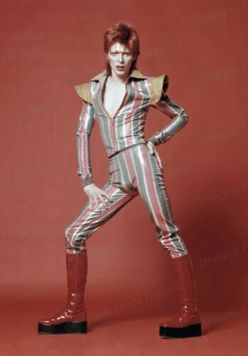 8x10 Print David Bowie Eclectic Costume #DB66