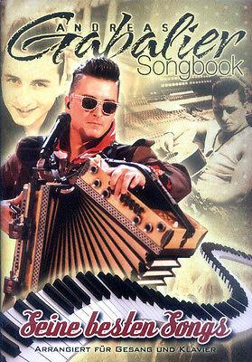 Andreas Gabalier Seine besten Songs Songbook Noten für Klavier Gitarre Gesang
