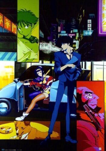 Cowboy Bebop poster : rare ver (made in Japan)