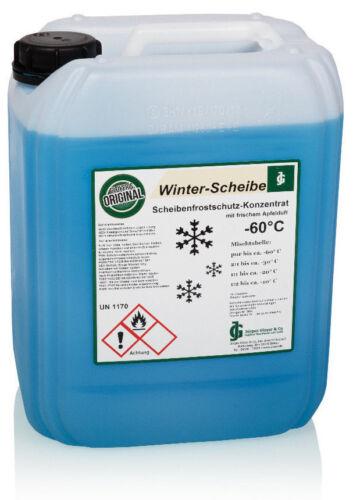 Scheibenfrostschutz Konzentrat Frostschutz Winterscheibe -60°C Scheibenreiniger
