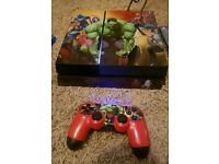 Marvel Themed playstation 4 console 500gb