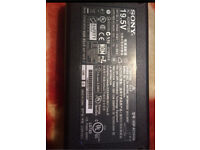 Sony 19.5v and 7.7A charger original