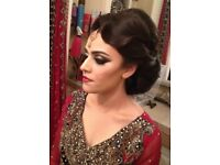 Freelance professional Asian English Bridal Party Hair and Makeup Artist