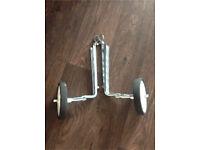 Bike support wheels