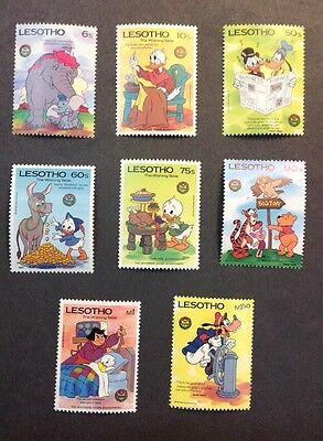Lesotho VF Mint NH Set Of 8 Catalogs $16