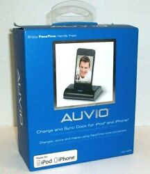 Auvio Charge & Sync Dock For Ipod Touch Nano 4th 5th 6th & Iphone 4 4s 3gs 3g