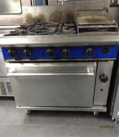Blue seal evolution series - gas range static oven