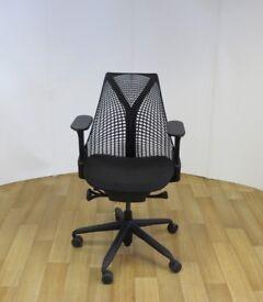 Herman Miller Sayl Black Edition Office Chair