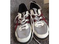 ASICS Gel rocket squash shoes Euro 44.5 size 10