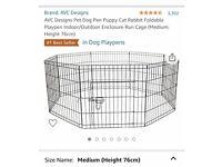 Pet enclosure/run/cage/play pen