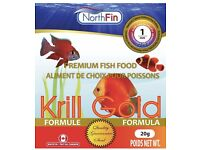 NorthFin Premium Fish Food - Krill Gold