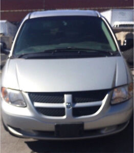 2007 dodge caravan with propane