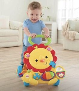 Fisher Price Musical Lion Baby Walker Push Toy