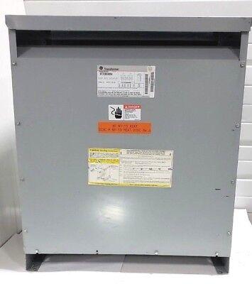 Tested Ge 9t23b3884 75 Kva Step Down Transformer 480v To 240v 3-phase 60hz
