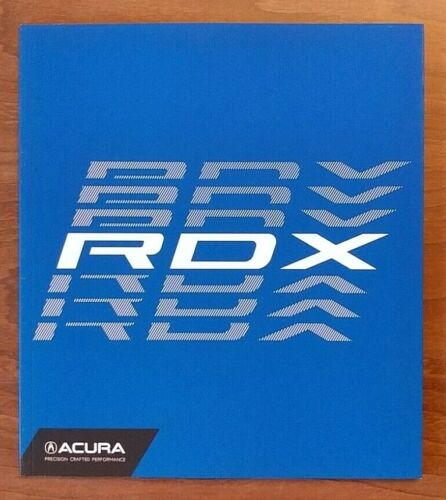 2018 ACURA RDX Sales Brochure Catalog US 18 Advance