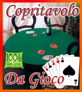 Copritavolo in feltro rotondo 135 cm verde mollettone copri tavolo salvatavolo ebay - Mollettone per tavolo ...