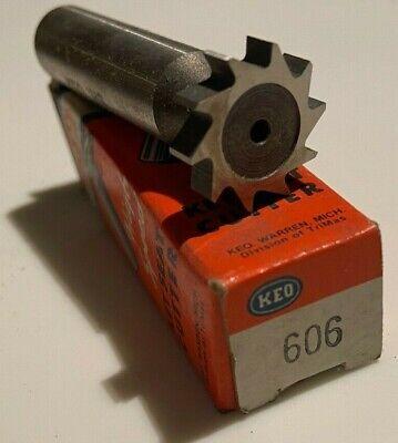 606 Keo Keyseat Cutter New Woodruff Key Slot