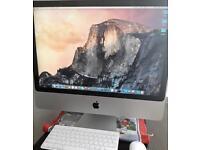 "iMac Apple 24"" Big Screen / Windows 7 Pro"