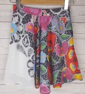 ALICE MCCALL Floral Patterned Skirt 10 Designer