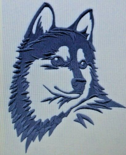 Alaskan Klee Kai Personalized Embroidered Hoodie Jacket
