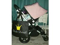 Bugaboo cam 3 either soft pink or royal blue x Fantastic con with extras