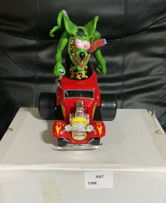 Rat Fink (Big Daddy) Ed Roth Edition Collectable Hot Rod