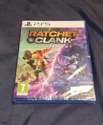 Ratchet and Clank: Rift Apart - PS5 Playstation 5 (Brand New Sealed) - 1st Class