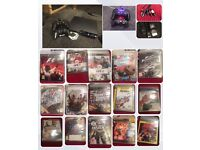Large PS3 Bundle with 16 Games and Charging Dock
