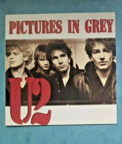 U2– Pictures In Grey-LIVE 1981 PINKPOP HOLLAND+NEW HAVEN USA