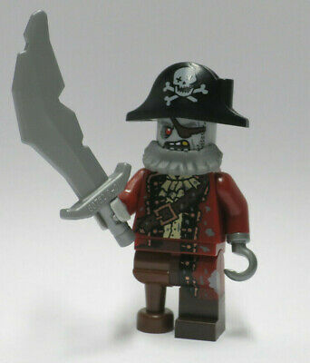 NEW Zombie Pirate Hook Series 14 Monsters Halloween LEGO Minifigure Mini Figure