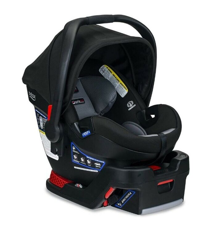 2019 Britax B-Safe Ultra Infant Car Seat in Noir New!