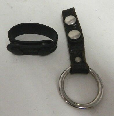 Security Police Baton Ring Holder For Duty Belt