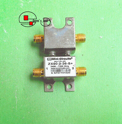 1 Mini-circuits Zx90-2-36-s Out 3400-7200mhz Doubler Frequency Multiplier