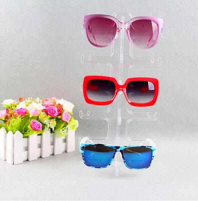 2 Set Small Detachable Glasses Display Shelf Props 5 Pairs Glass Display Tools