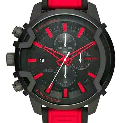 DIESEL MEN'S GRIFFED CHRONOGRAPH SPORTS WATCH, DZ4530, NEW IN BOX WITH TAGS