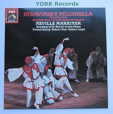 ASD 4313 - STRAVINSKY - Pulcinella MARRINER AoSMITF - Excellent Con LP Record